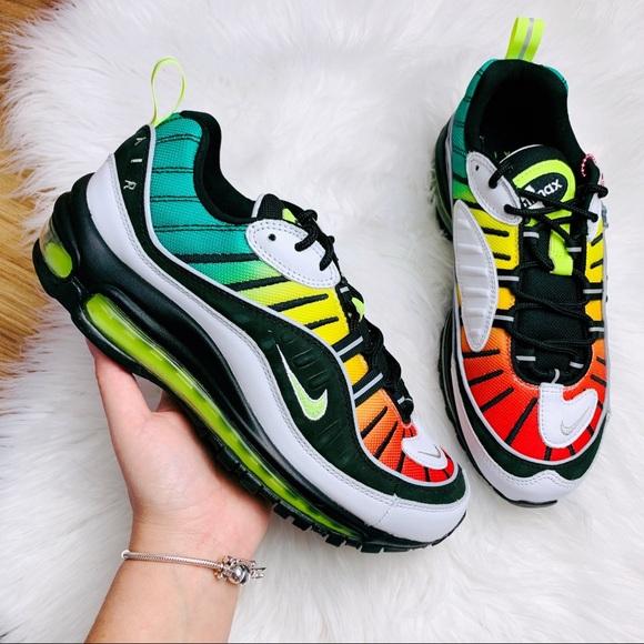 Nike Air Max 98 Olivia Kim Jamaican Colors